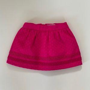 Genuine Kids Pink Structured Skirt
